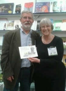 Mike and Kate at London Book Fair 2015
