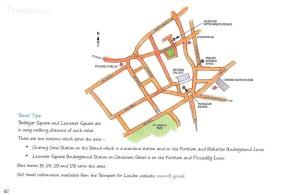 Theatreland Map